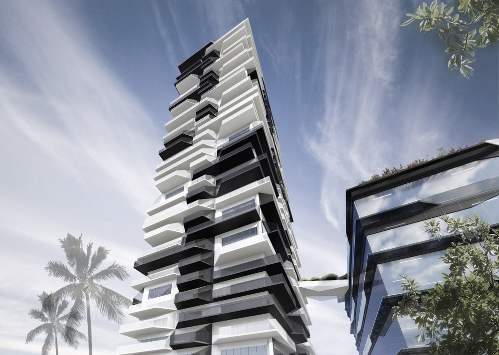 Arno Matis Architecture - LA Arts District Rental Tower Office Tech Residential